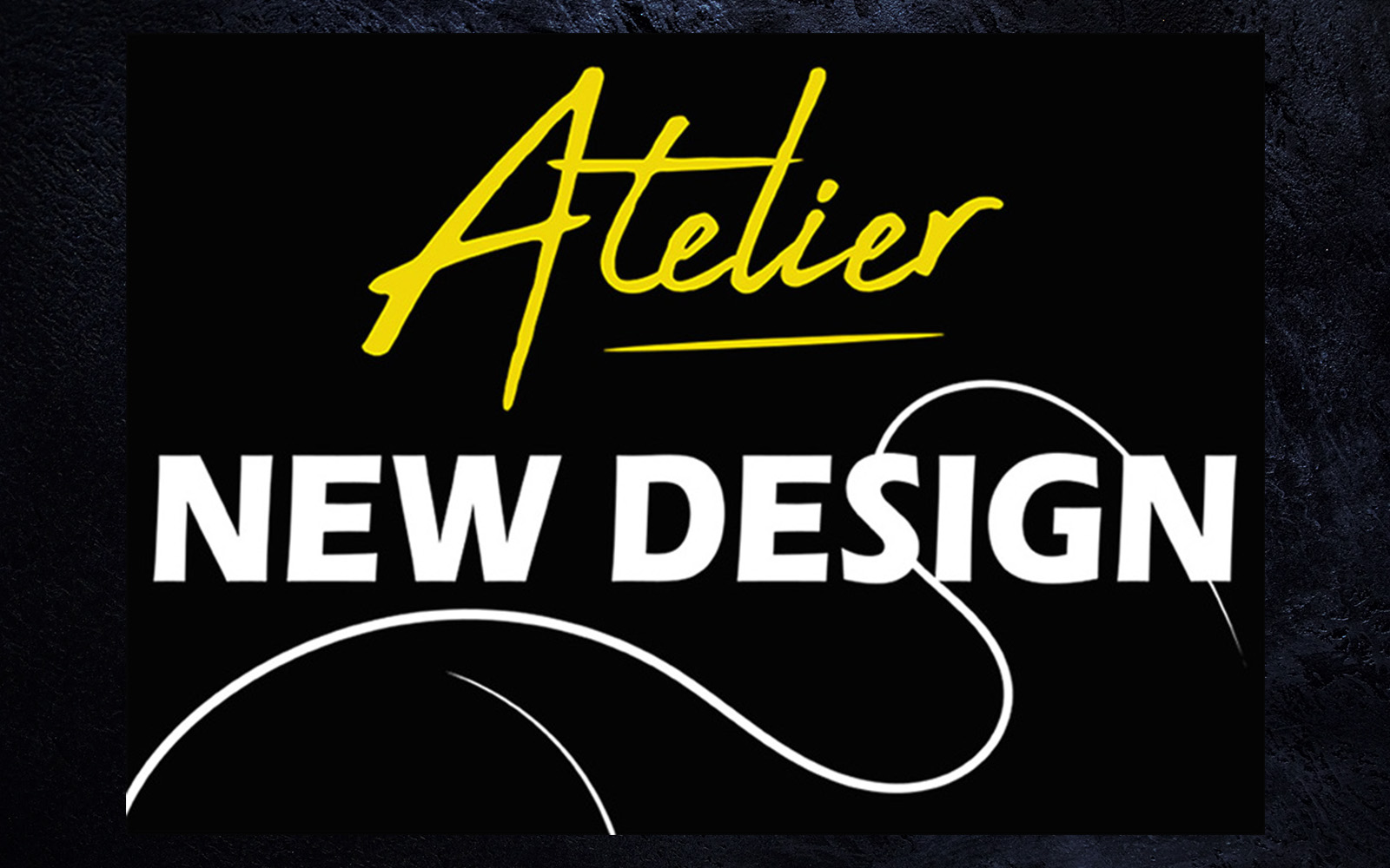 logo page accueil atelier new design